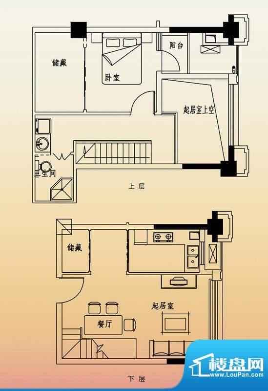 高速滨湖时代广场G6面积:80.00平米