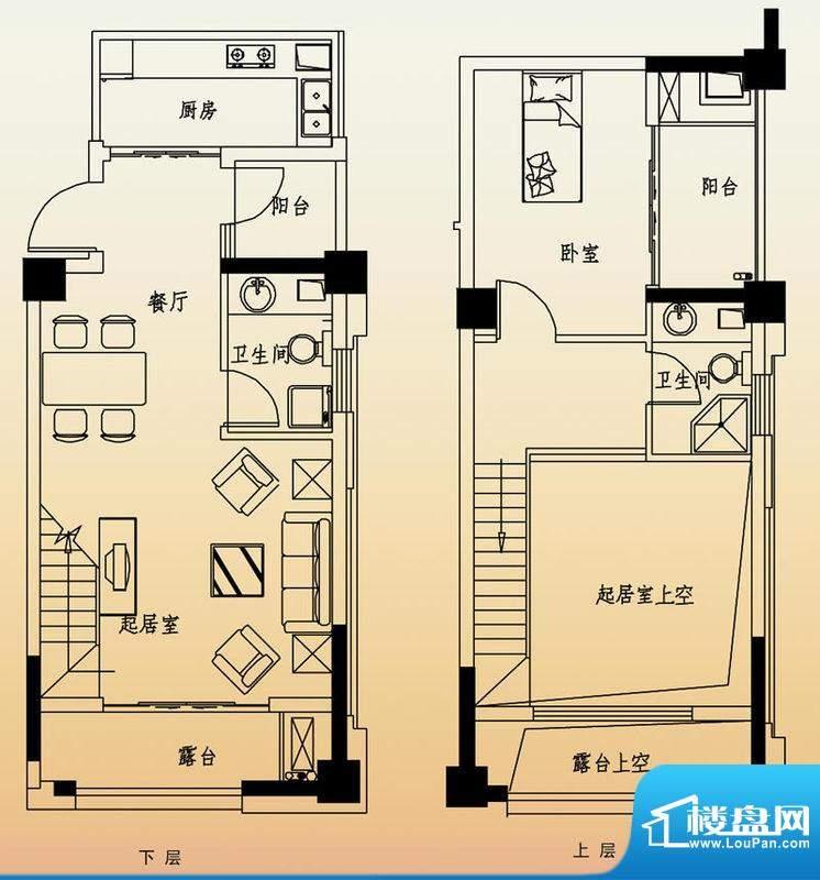 高速滨湖时代广场G6面积:82.00平米