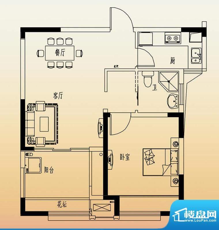 高速滨湖时代广场G3面积:65.00平米