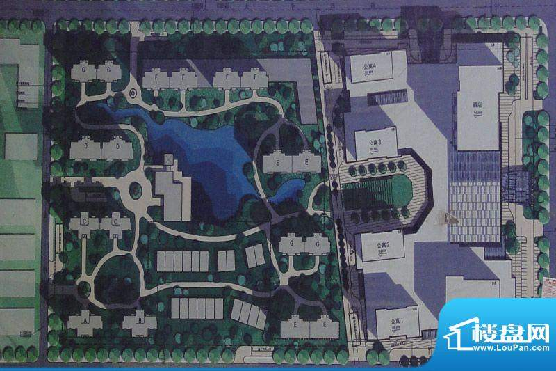 鄂尔多斯广场实景图