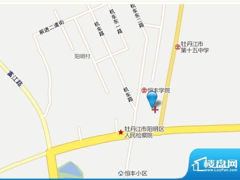 裕华园交通图