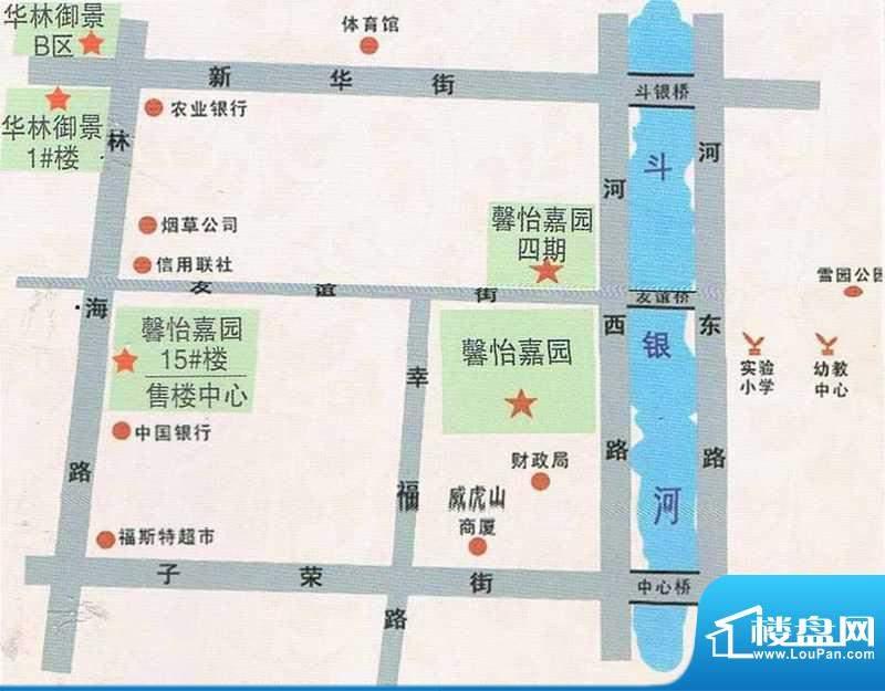 华林御景交通图