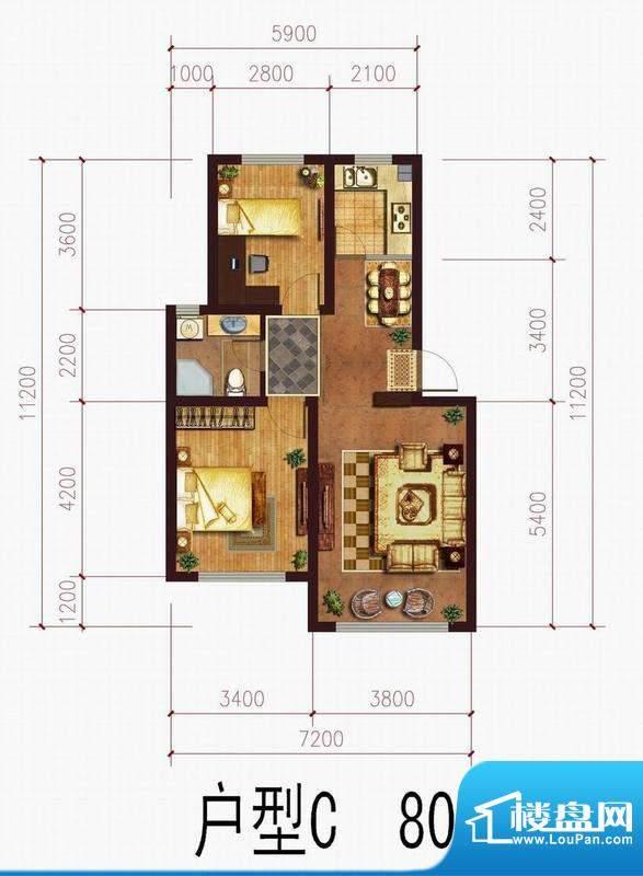 中央上城3 面积:0.00m平米