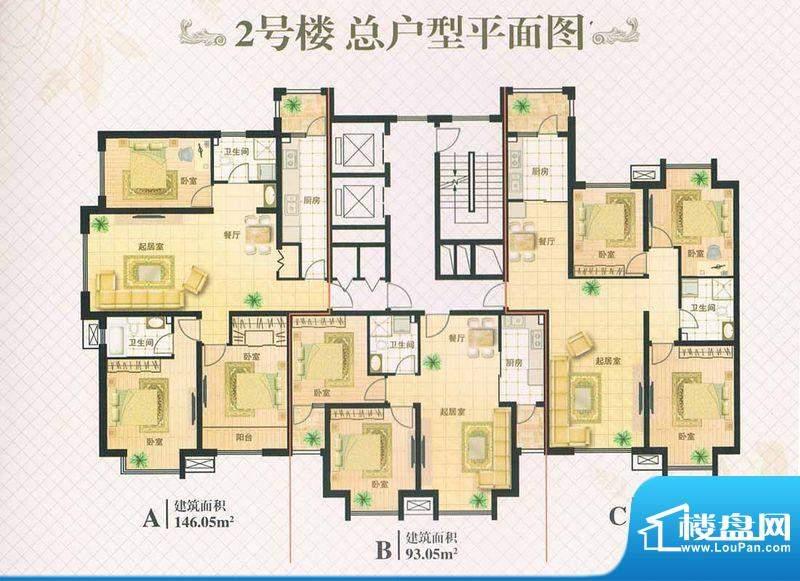景福新都会景福宫馆面积:0.00m平米