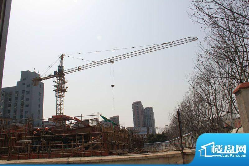 嘉悦大厦施工实景图(2012-3-20)