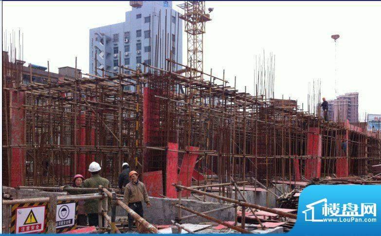 嘉悦大厦施工实景图(2012-3-05)