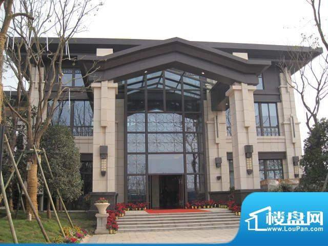 蓝光名仕公馆售楼处实景图(2011-12-15