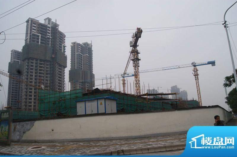 泉舜财富中心工程进度(2011-09)