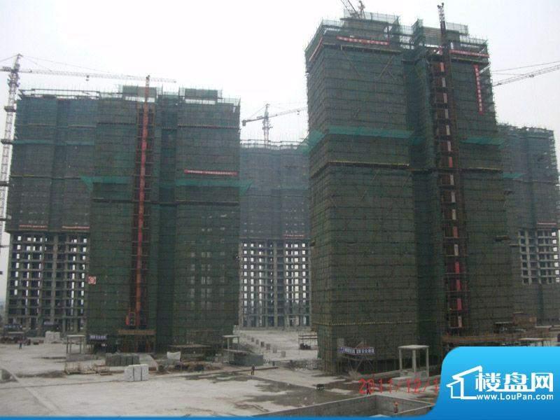 领秀智谷施工实景图(2011-12-18)