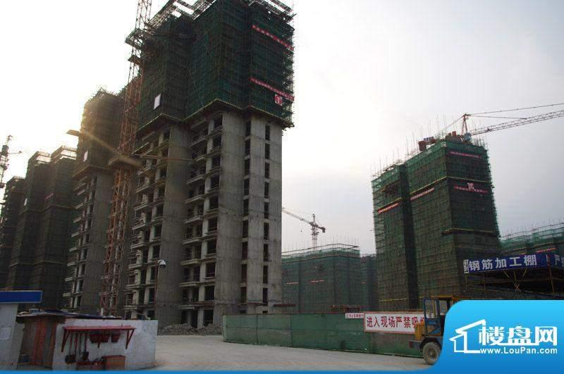 领秀智谷施工实景图(2011-10-18)