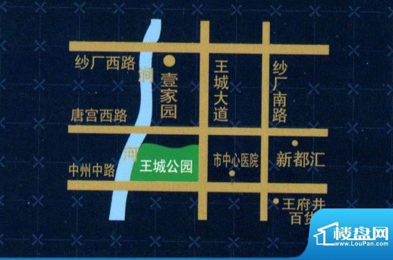 千里壹家园交通图