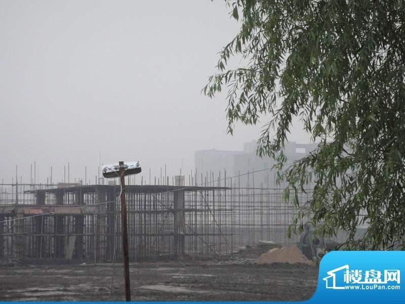 金都夏宫地块施工实景图(2010-11-30)
