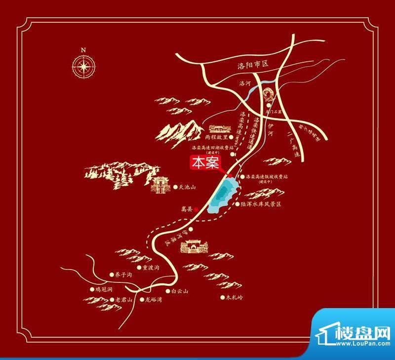 御龙半岛交通图