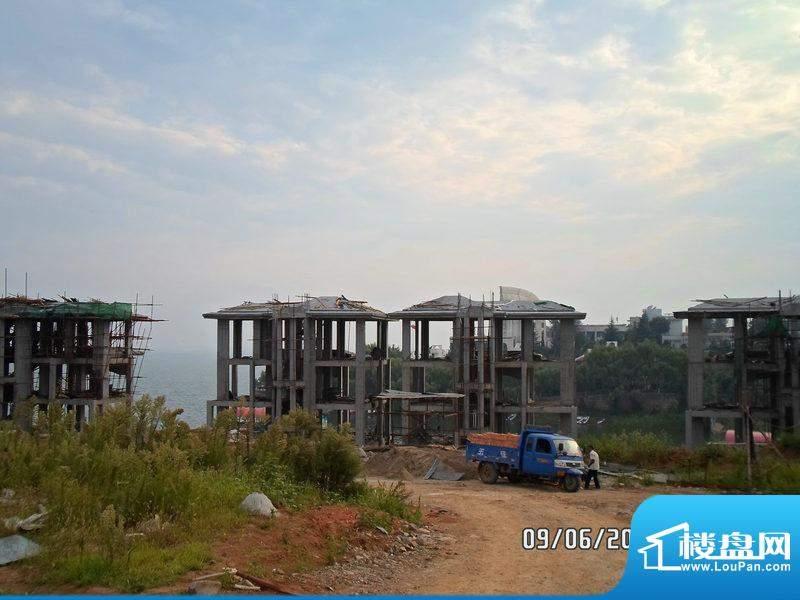 御龙半岛工程进度(2012-09)