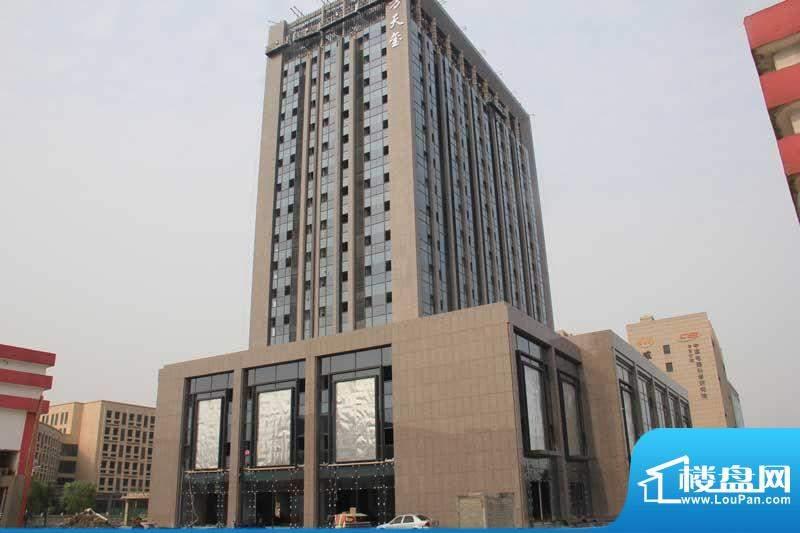 东方天玺实景图(2012-5-15)