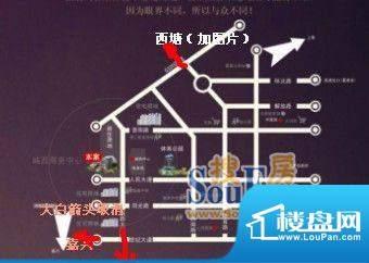 禾众商业广场交通图