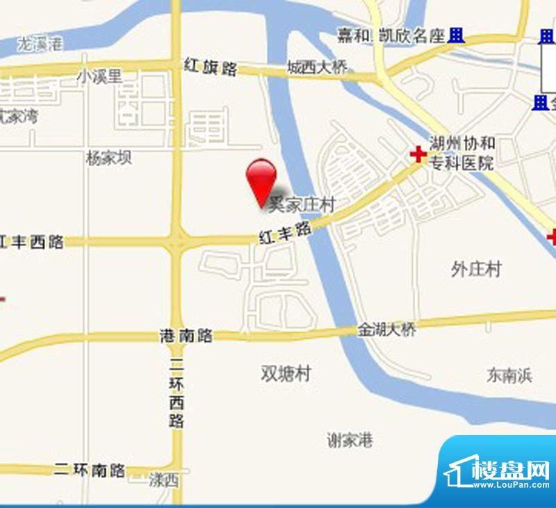 港城凯旋国际交通图