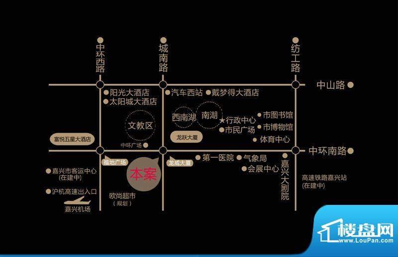 融寓交通图