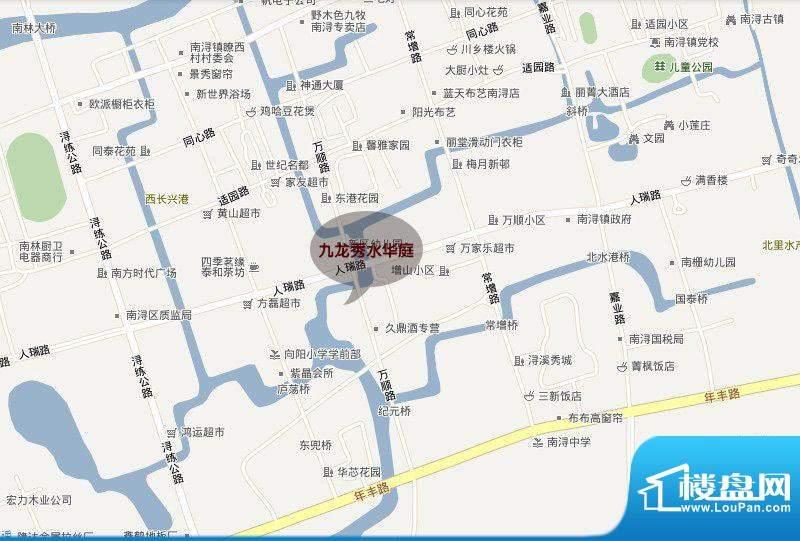 九龙秀水华庭交通图