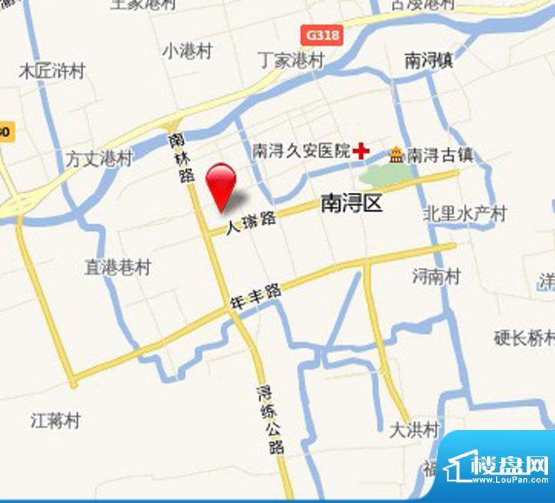 兴马—经典公寓交通图