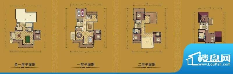 蓝湖半岛独栋别墅 6面积:754.56平米
