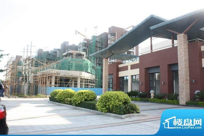 长城世家二期销售中心外景图(2010-08-0