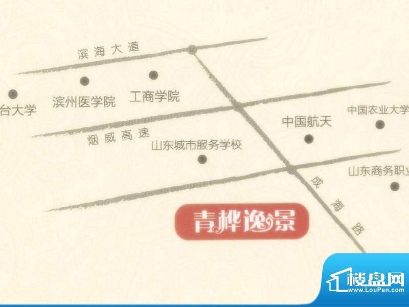 青桦逸景交通图