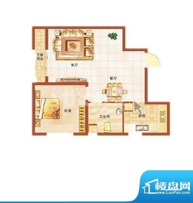 青桦逸景27#、28#楼面积:65.29平米