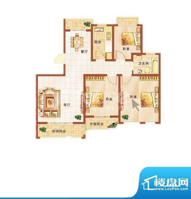 青桦逸景22#、24#楼面积:109.79平米