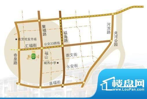 颐景园交通图