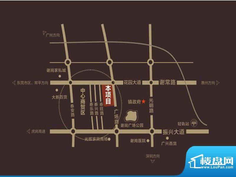 永江国际公馆交通图