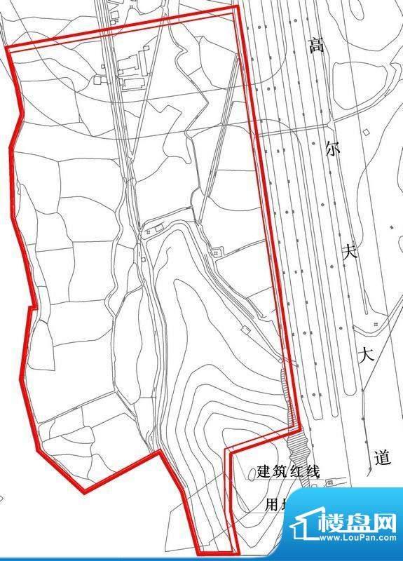 珠江御景峰花园项目交通图