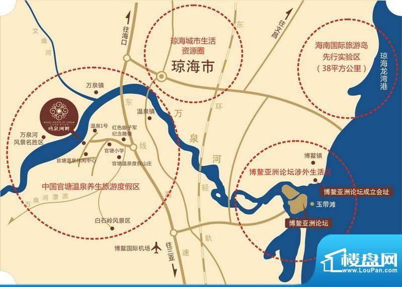 吻泉河畔交通图