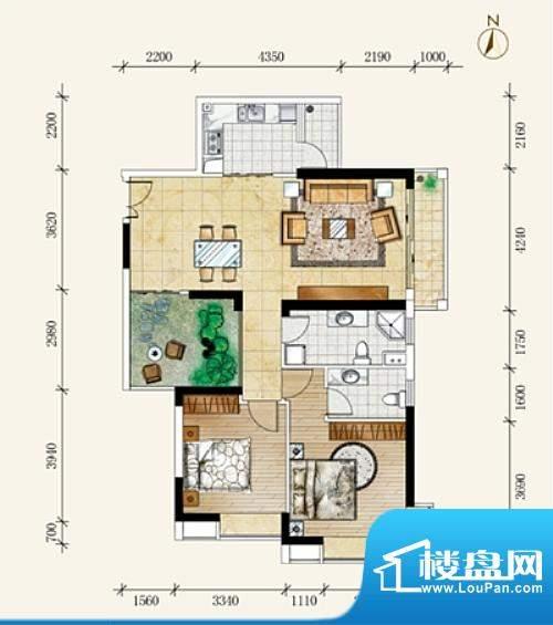 海客瀛洲销平B501(D面积:0.00m平米