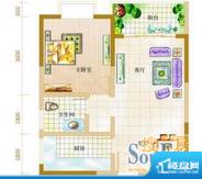 宝泰温泉花园 2室 户面积:98.00平米