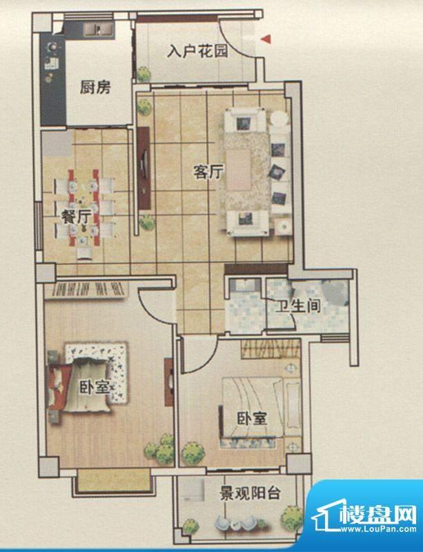 永鸿国际城12号楼户面积:0.00m平米