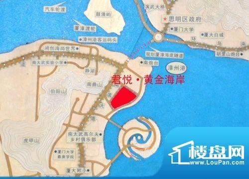 君悦·黄金海岸交通图