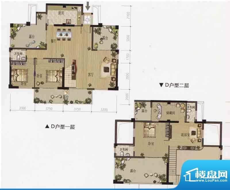 天隆.名邸天隆名邸D面积:216.16m平米