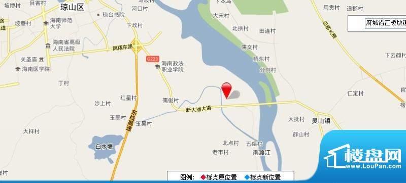 德信滨江绿都交通图