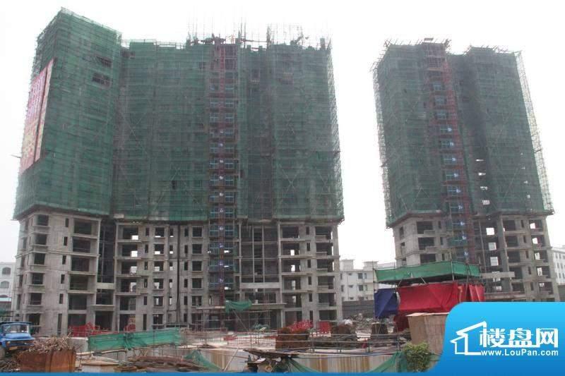 德信滨江绿都工程进度(2011-10-21)