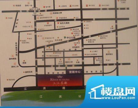 上江名都交通图