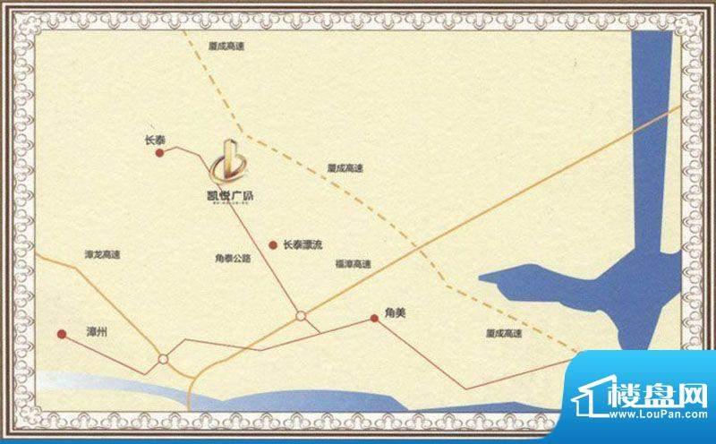 凯悦广场交通图