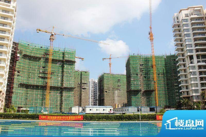 爱琴万泉水郡三期工程实景图一(2011-11