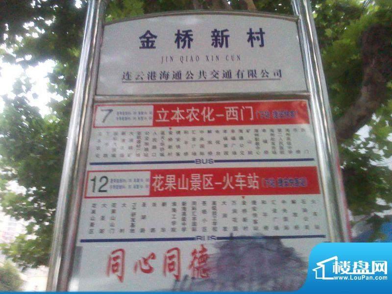 博威·江南明珠苑交通图