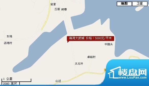 海湾.太武城交通图