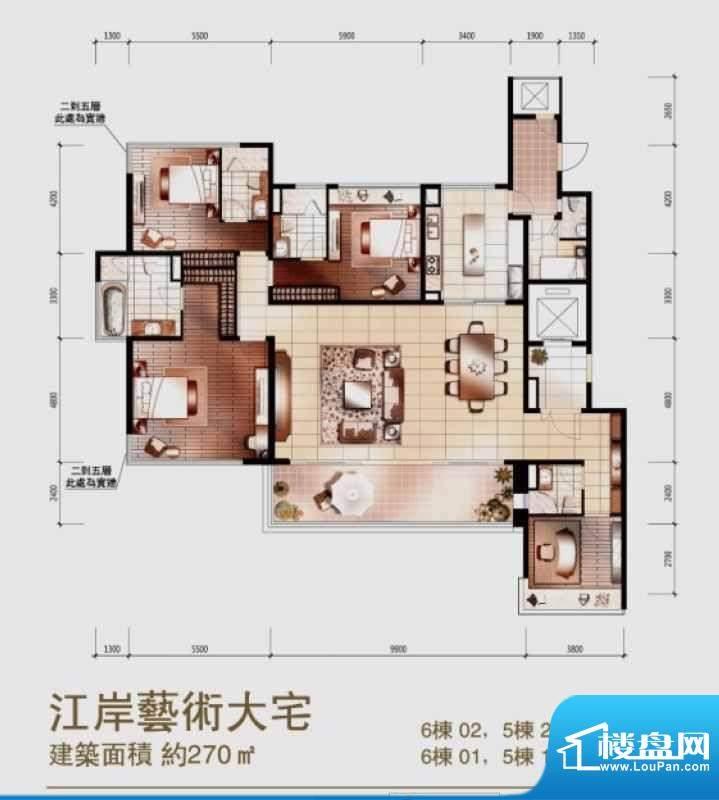 馨润尚寓时代外滩5-面积:0.00平米