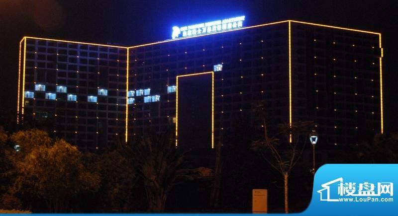 皇家骑士万泉度假酒店公寓酒店夜景外景