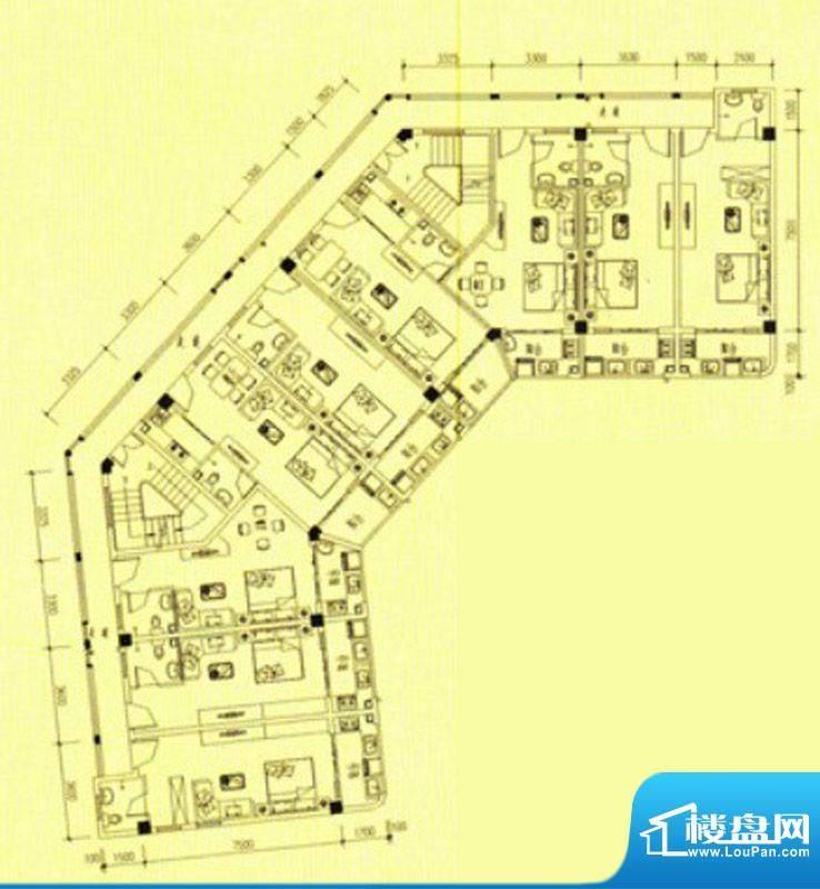 书香门第1号楼单身公面积:40.00m平米