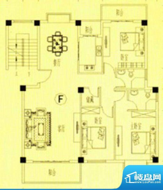 书香门第10-11号楼F面积:131.00m平米