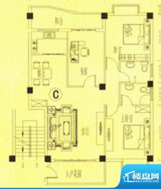 书香门第3、4、12号面积:102.00m平米